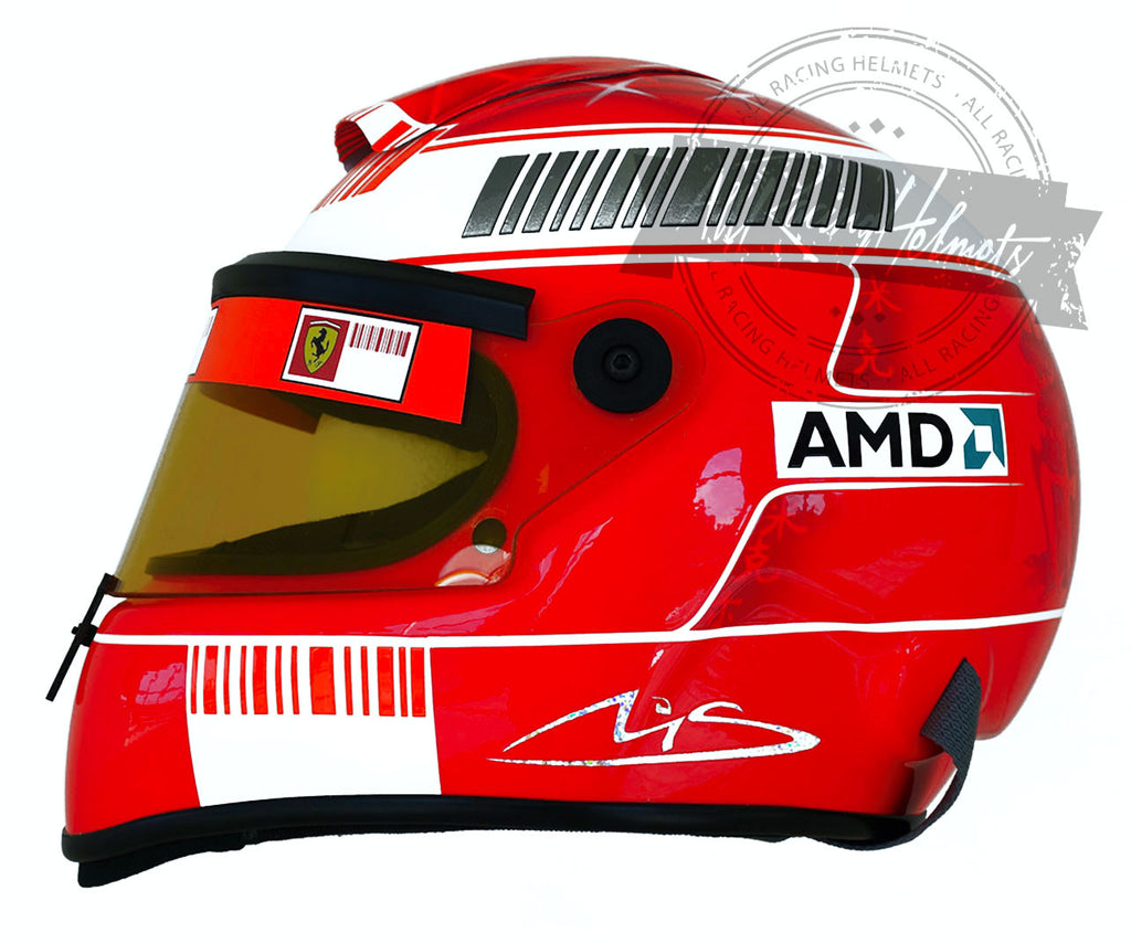 "Michael Schumacher 2007 ""Test Drive"" F1 Replica Helmet Scale 1:1"
