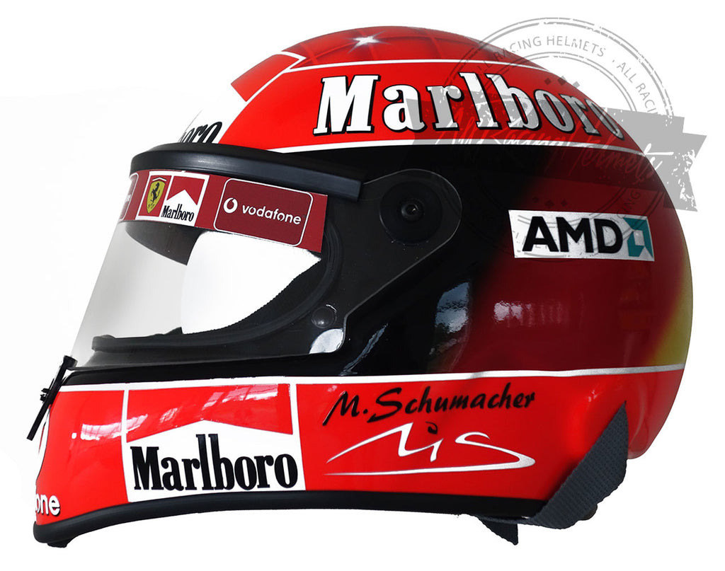 Michael Schumacher 2003 F1 Replica Helmet Scale 1:1