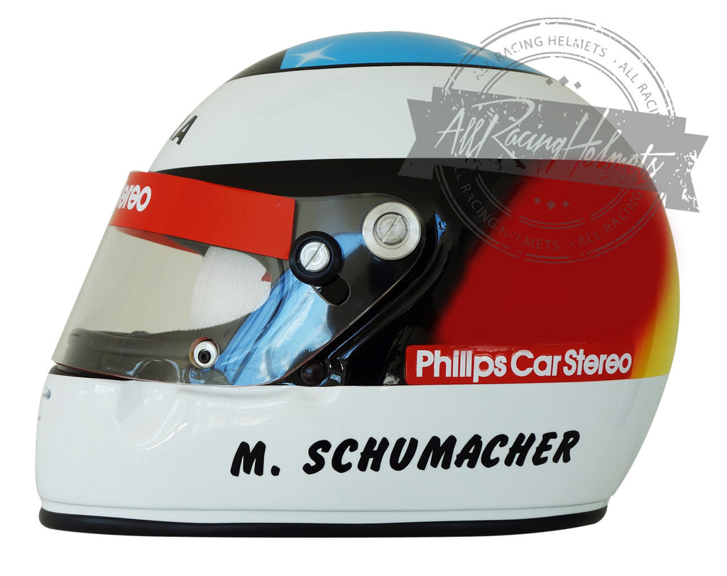 Michael Schumacher 1991 F1 Replica Helmet Scale 1:1