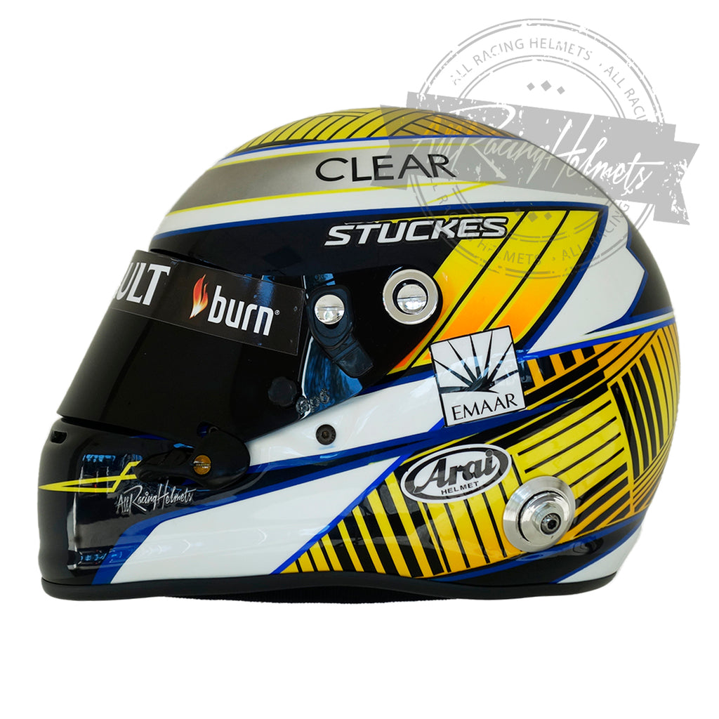 Sam Stuckes Helmet