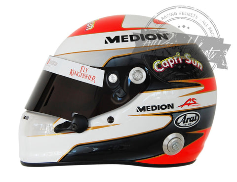 Adrian Sutil 2013 F1 Replica Helmet Scale 1:1