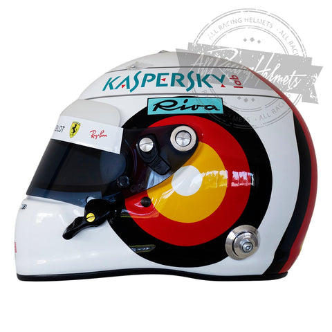 Sebastian Vettel 2018 German GP F1 Replica Helmet Scale 1:1