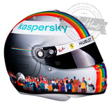 Sebastian Vettel 2020 Turkish GP F1 Replica Helmet Scale 1:1