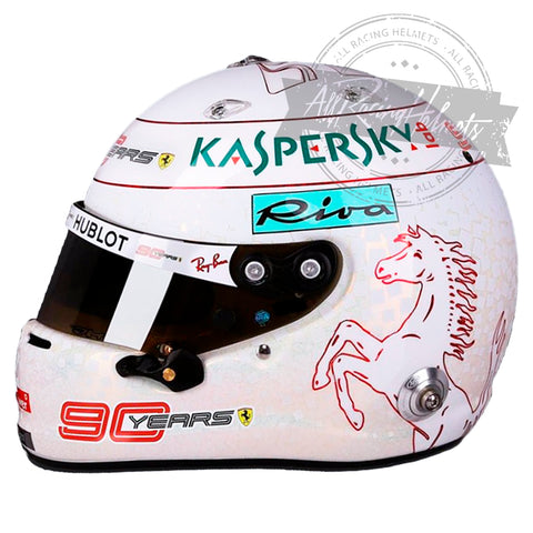 Sebastian Vettel 2019 France GP F1 Replica Helmet Scale 1:1