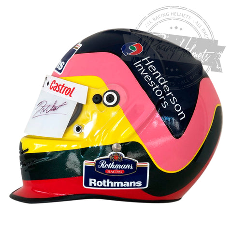 Jacques Villeneuve 1997 F1 Replica Helmet Scale 1:1