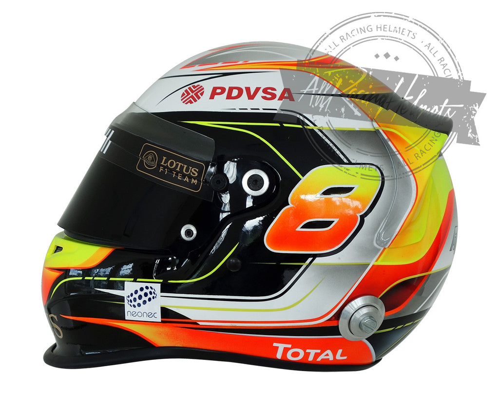 Romain Grosjean 2015 F1 Replica Helmet Scale 1:1