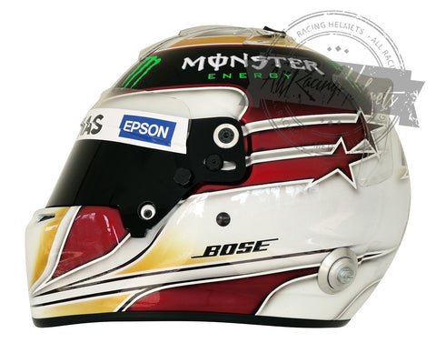 Lewis Hamilton 2015 RS7 New Updated F1 Replica Helmet Scale 1:1