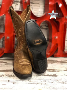 Load image into Gallery viewer, Ladies Tan Distressed Boots - Henderson's Western Store