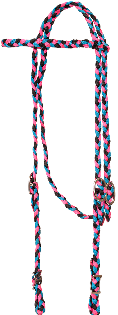 Braided Browband Headstall - Henderson's Western Store