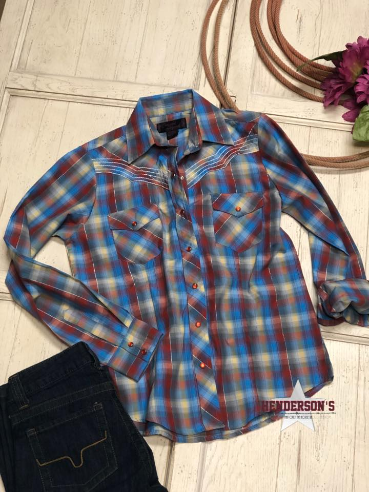 Cowgirl Legend Plaid ~ Red - Henderson's Western Store