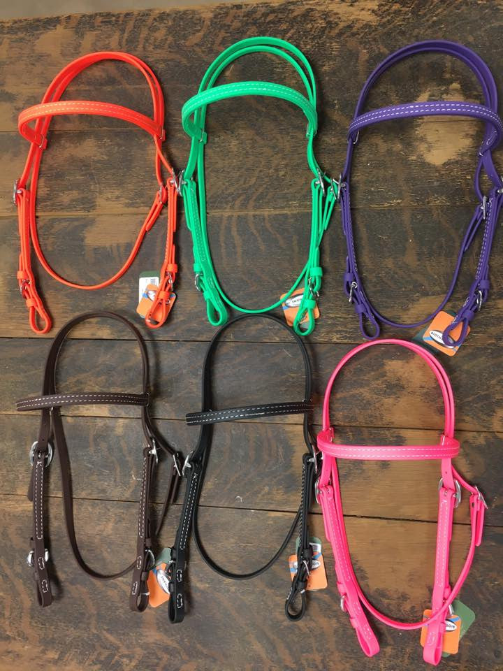 Biothane Coated Headstall - Henderson's Western Store