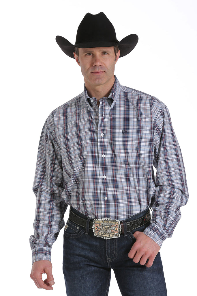 Men's Cinch Plain Weave Plaid - Henderson's Western Store