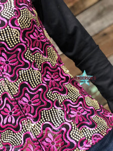 Load image into Gallery viewer, Ali Show Vest - Fuchsia - Henderson's Western Store