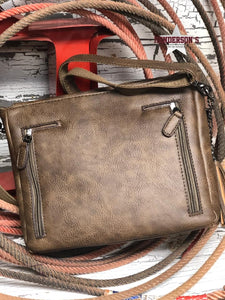 Load image into Gallery viewer, Angel Ranch Tooled Crossbody - Henderson's Western Store