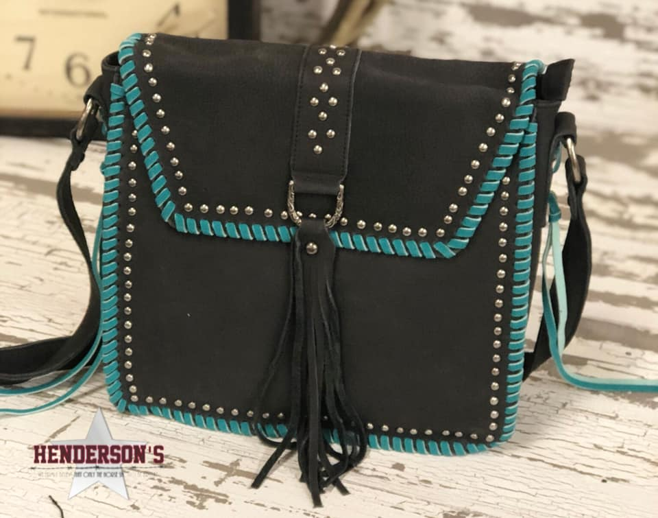 Delila Leather Messenger Bag - Henderson's Western Store