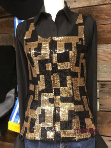 Load image into Gallery viewer, Gold Brick Show Vest - Henderson's Western Store