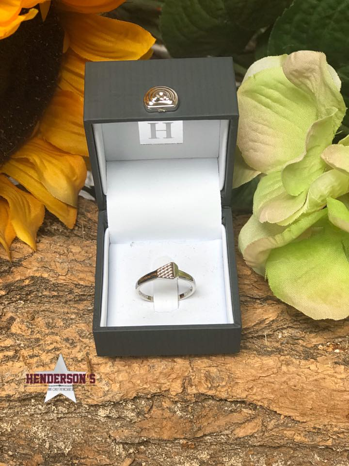 Kelly Herd Horseshoe Nail Ring - Henderson's Western Store