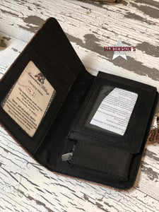 Load image into Gallery viewer, Metallic Phone Charging Wallet - Henderson's Western Store