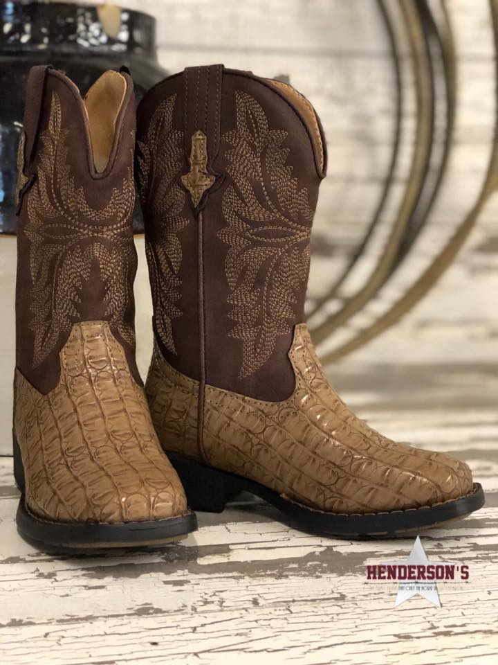 Chomp Caiman Childrens Boots - Henderson's Western Store