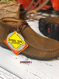 Load image into Gallery viewer, Ladies Steel Toe Driving Moc - Henderson's Western Store