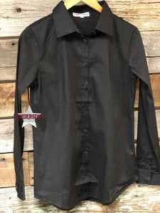 Load image into Gallery viewer, Missy Fit Solid Button Shirt - Henderson's Western Store