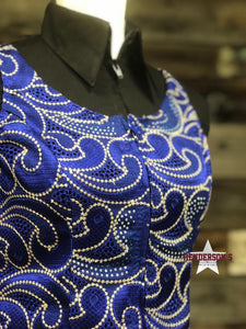 Load image into Gallery viewer, Ocean Waves Show Vest - Henderson's Western Store