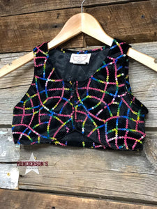 "Load image into Gallery viewer, Over The Rainbow Youth ""Mini"" Bolero - Henderson's Western Store"