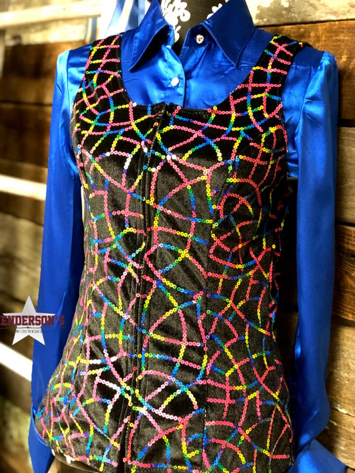 Over The Rainbow Show Vest - Henderson's Western Store