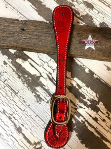 Load image into Gallery viewer, Metallic Spur Straps ~ Adult - Henderson's Western Store