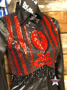 Load image into Gallery viewer, Hearts On Fire Bolero - Henderson's Western Store