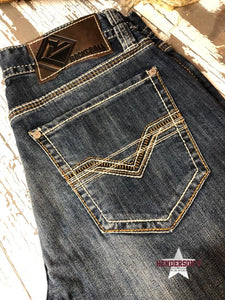 Load image into Gallery viewer, Rock & Roll Double Barrel Bootcut Jeans - Henderson's Western Store