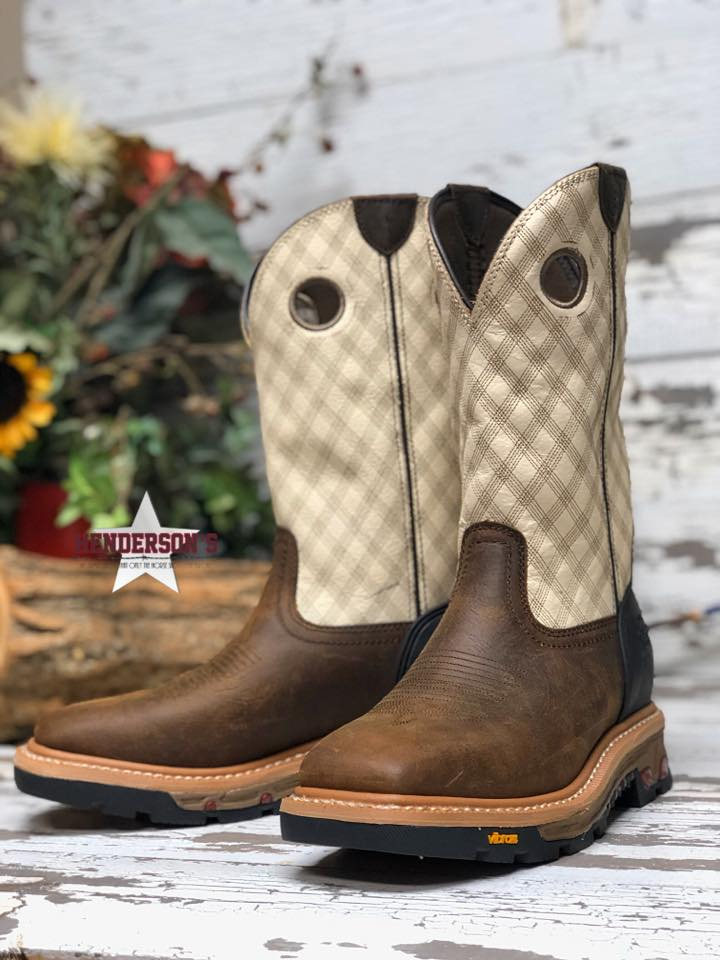Roughneck Tan Boots - Henderson's Western Store