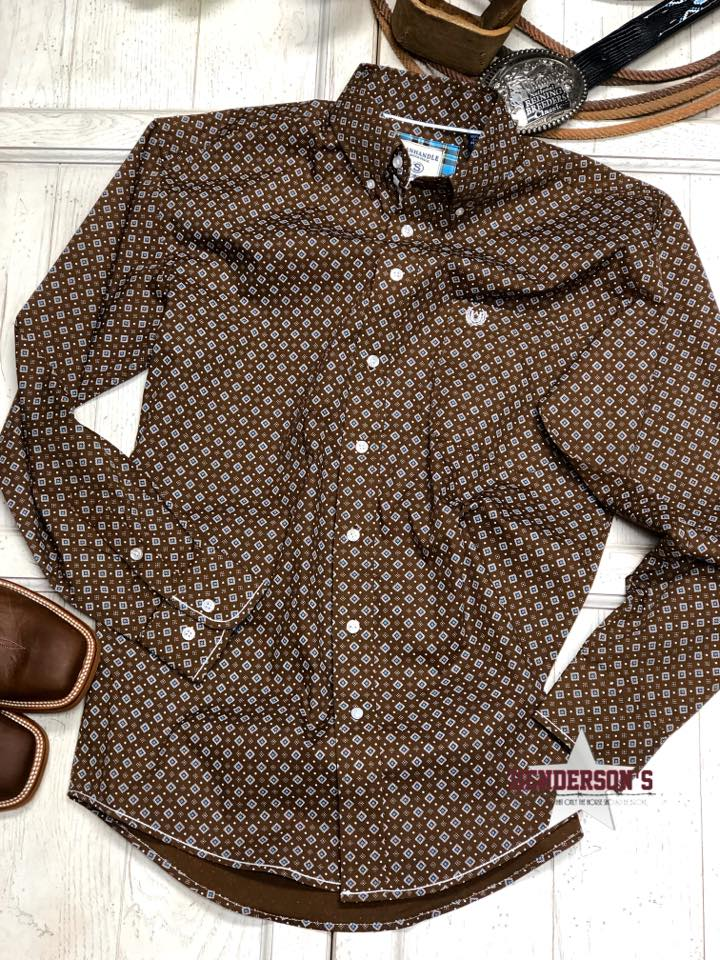 Men's Rough Stock ~ Brown - Henderson's Western Store