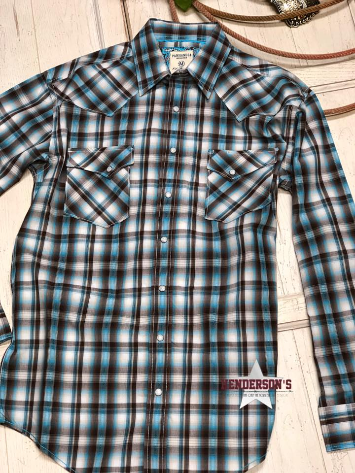 Men's Rough Stock ~ Brown Plaid - Henderson's Western Store