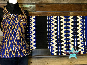 Load image into Gallery viewer, Royal Delight Show Vest - Henderson's Western Store