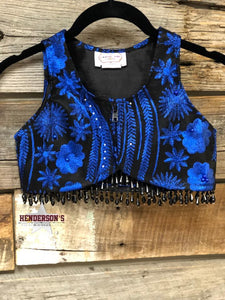 "Load image into Gallery viewer, Royal Flowers ""Mini"" Bolero - Henderson's Western Store"