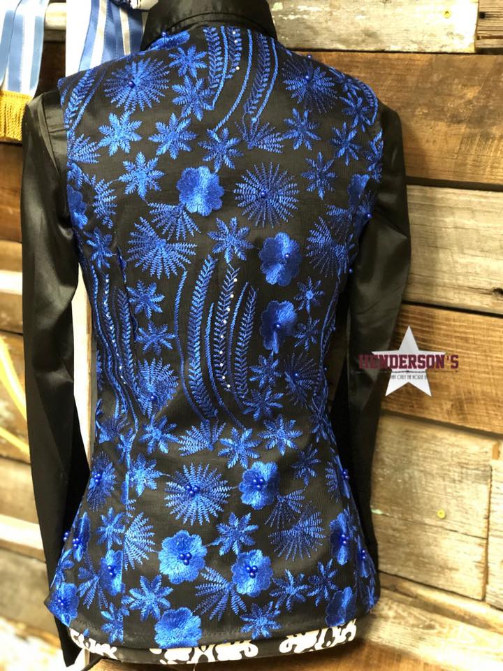 Royal Flowers Show Vest - Henderson's Western Store
