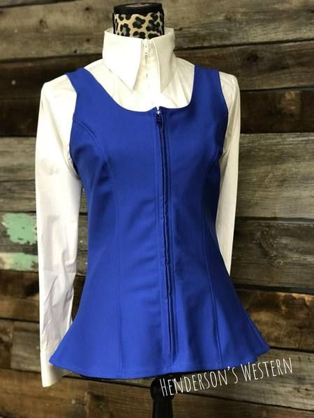 DIY Ultimate Vest ~ Black Red Royal & Navy - Henderson's Western Store
