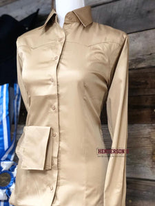 Load image into Gallery viewer, Sateen Solid Shirts - Henderson's Western Store