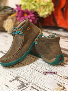 Load image into Gallery viewer, Women's Turq Fever Driving Moc - Henderson's Western Store