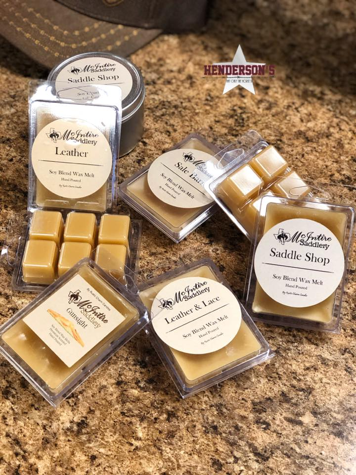 McIntire Saddlery Candles ~ Wax Melts - Henderson's Western Store