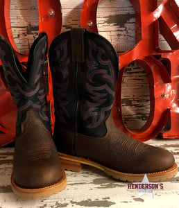 Load image into Gallery viewer, Herdsman Midnight Work Boots - Henderson's Western Store