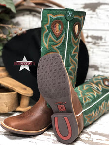Load image into Gallery viewer, Kid's Buckaroo Boots ~ Turquoise - Henderson's Western Store