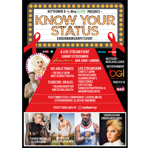 Know Your Status Live 2019 poster