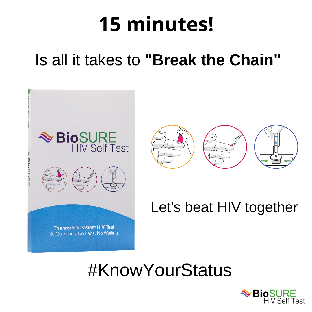 BioSURE HIV Self Test image