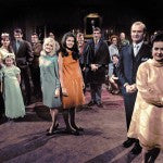 Dark Shadows 1967 Cast Photo -- Color