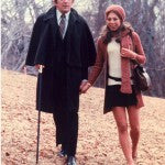 Dark Shadows: Maggie and Barnabas Walking