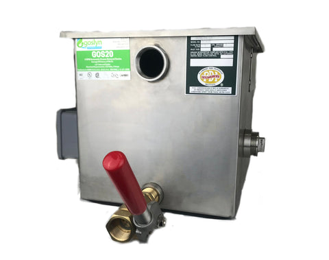 GOS20- 5 GPM Automatic Grease Removal Device