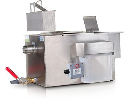 GOS80LP- 25 GPM Low Profile Automatic Grease Removal Device