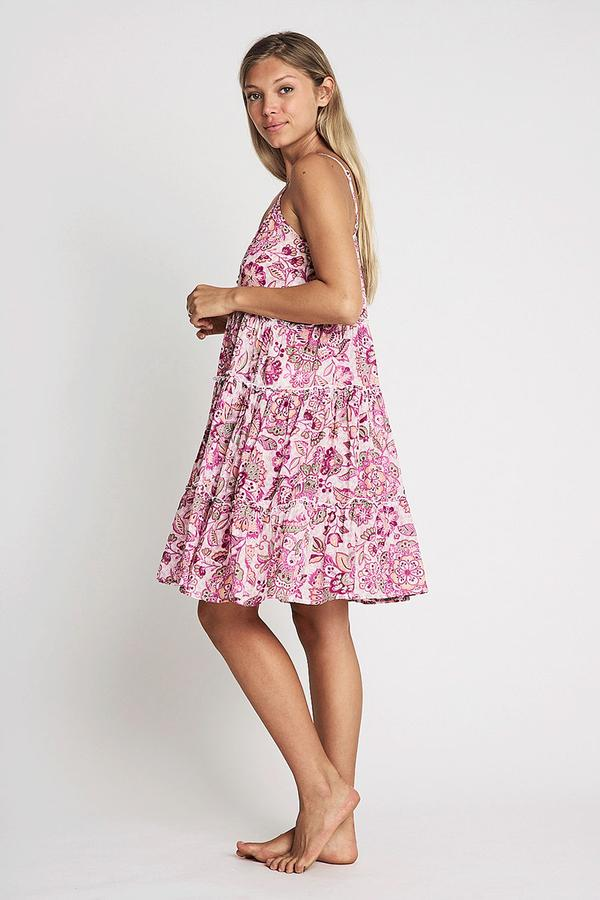 Load image into Gallery viewer, Amelie Strap Dress - Pink